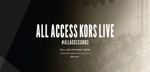 Tonton Langsung Fashion Show Michael Kors