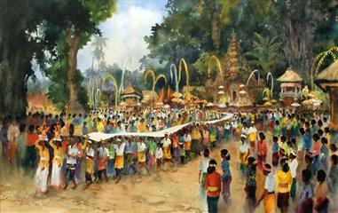 Pameran Lukisan Chris Suharso di Art:1