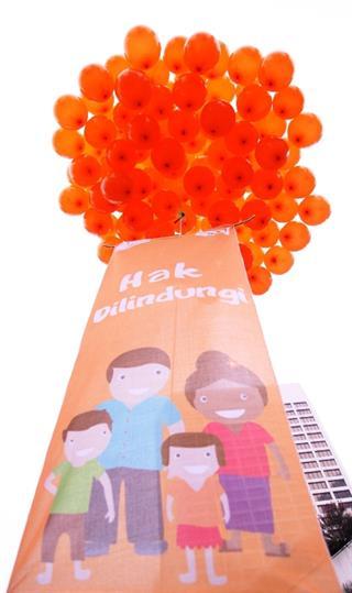 Kampanye Perlindungan Anak dari Wahana Visi