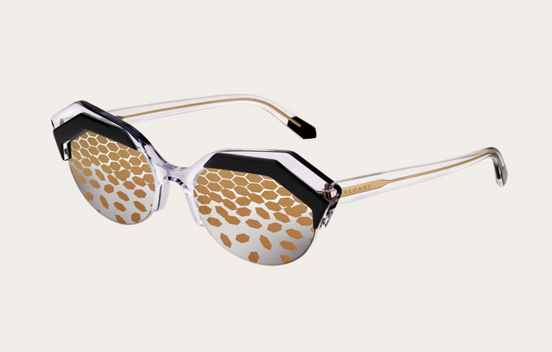 Serpent eyes eyewear campaign oleh Bvlgari