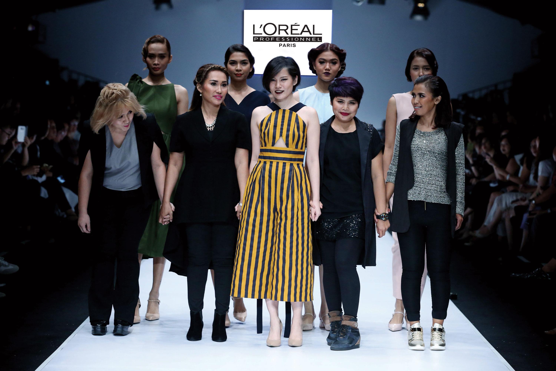 L'Oréal Professionnel IT Looks Fall Winter 2016/2017 Hair Show Menjadi Show Pembuka Jakarta Fashion Week 2017