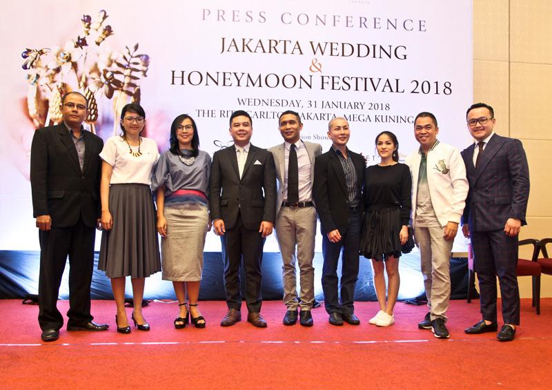 The Ritz-Carlton Jakarta & JW Mariott Jakarta Mempersembahkan Jakarta Wedding & Honeymoon Festival 2018