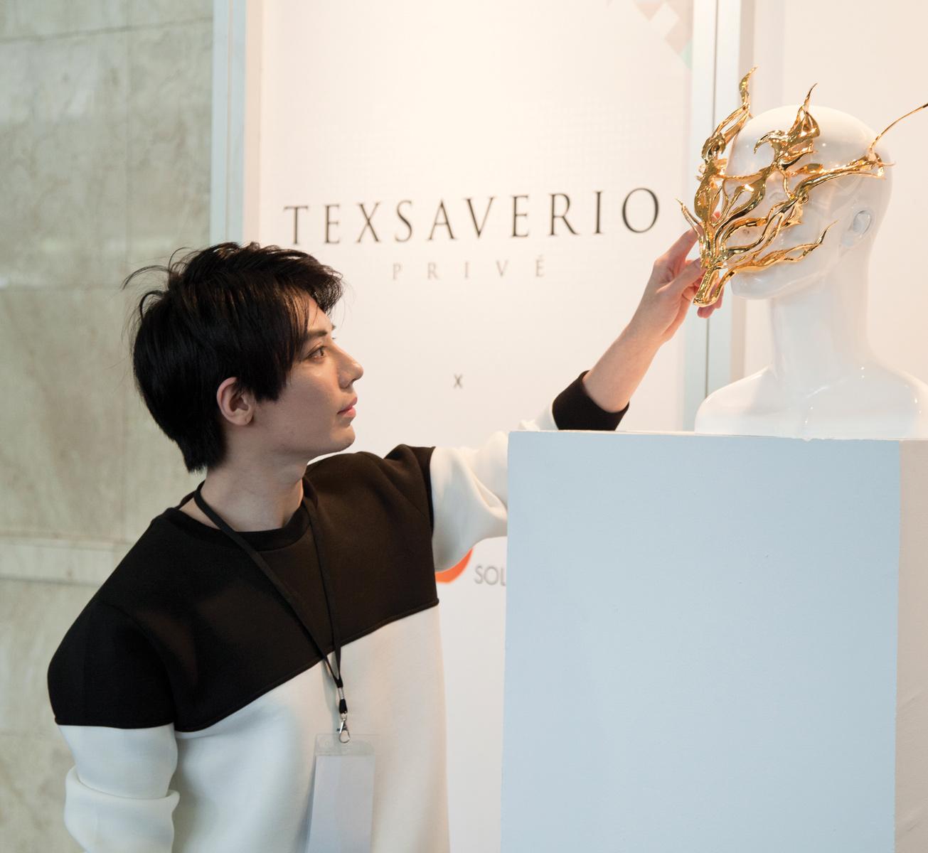 Desainer Tex Saverio Tertarik Gunakan 3D Printing Untuk Karyanya