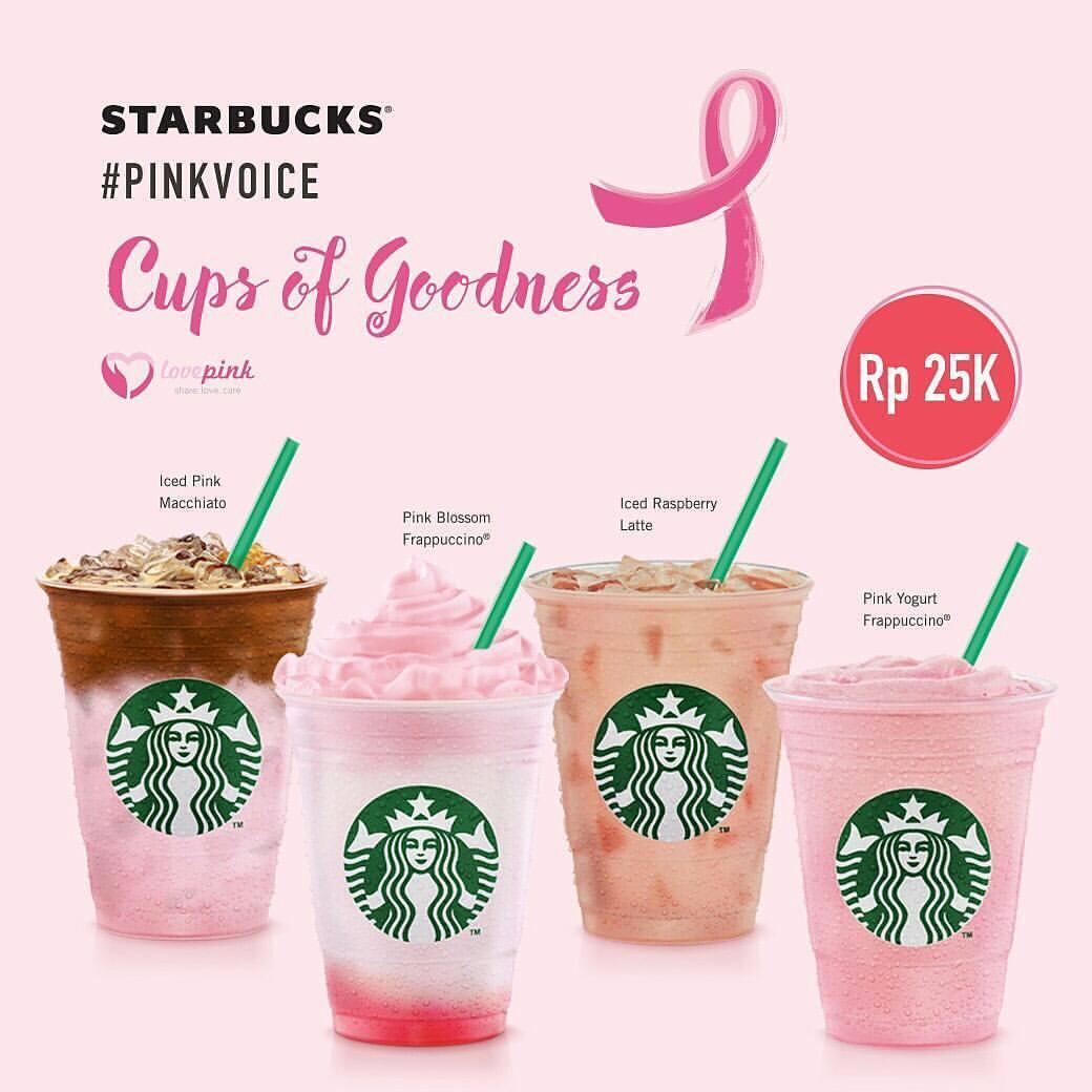 Empat Minuman Spesial Starbucks di Bulan Kesadaran Payudara