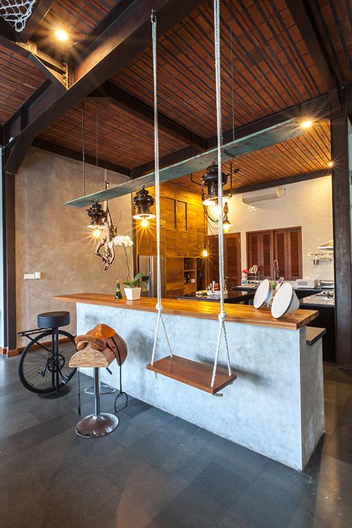 Intip Mansion Bergaya Bauhaus Milik Nico Genze