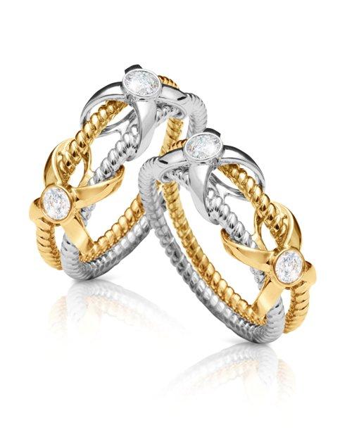 Wedding Ring Love Knot: Hasil Kolaborasi Frank & Co. dan Sebastian Gunawan