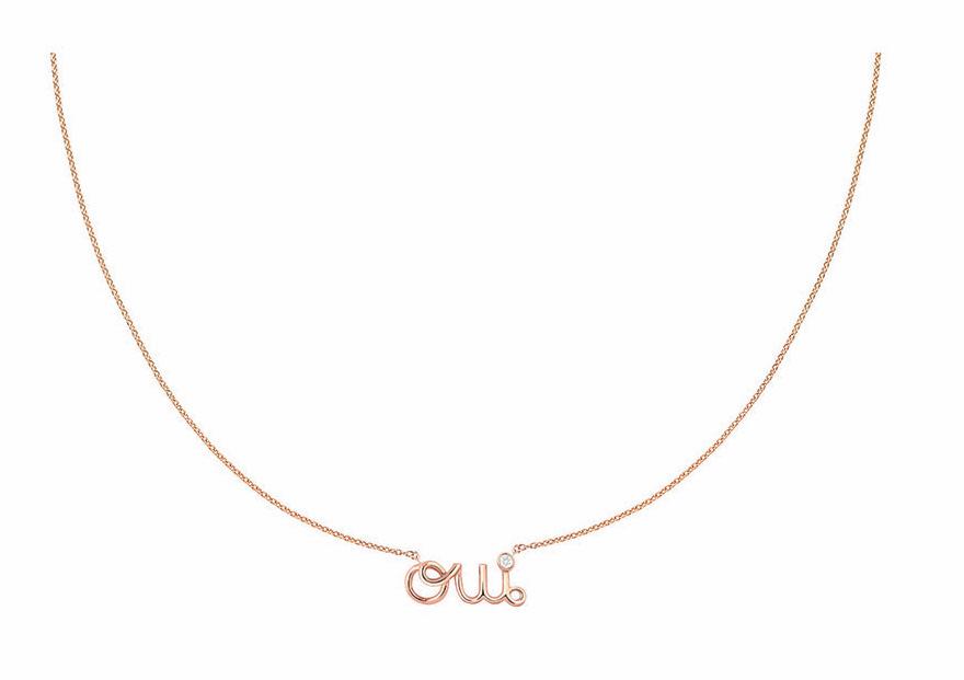 """Kalung dan Gelang yang Manis dari Lini Koleksi """"Oui"""" Dior"""