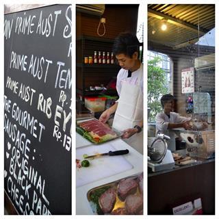 Steak and Noodles in Kemang