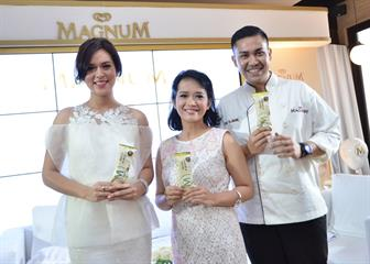 Varian Baru Es Krim Magnum White Almond