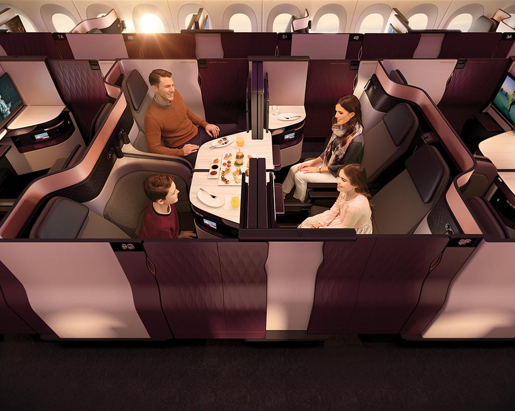 Qsuite: Standar Penerbangan Persembahan Qatar Airways