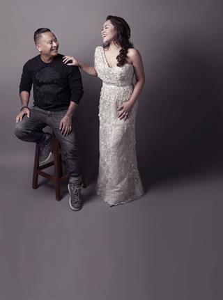 Cerita di Balik Gaun Pernikahan Chef Owner Akasya&Co, Aliyah Latief Rancangan Sapto Djojokartiko
