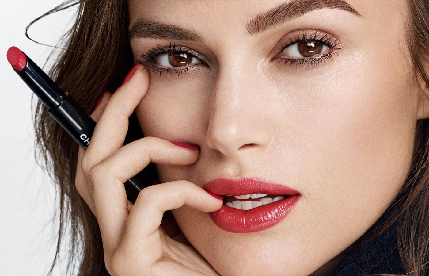 Dapatkan Bibir Merah Aktris Keira Knightley Dengan Lipstik Chanel Terbaru Rouge Coco Stylo