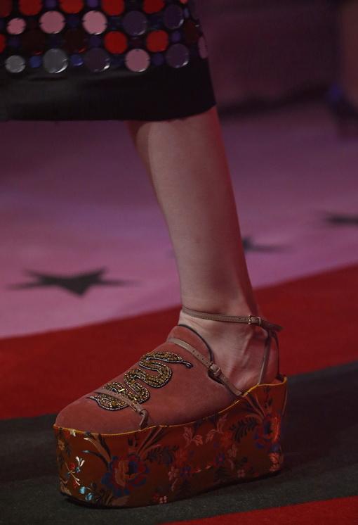 Alesandro Michele Memboyong Kembali Era Chunky Heels dan Sepatu Platform di Gucci