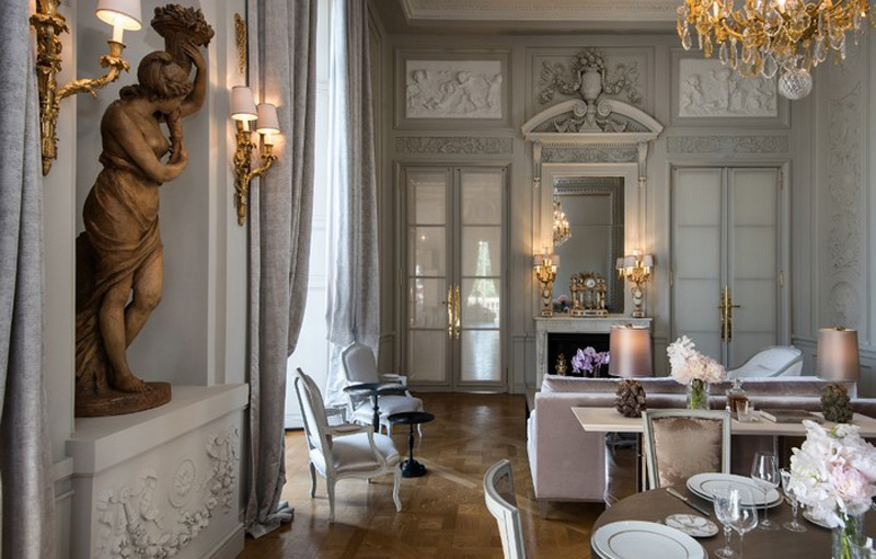Mengintip Desain Elegan Kamar Suite Hôtel de Crillon oleh Karl Lagerfeld