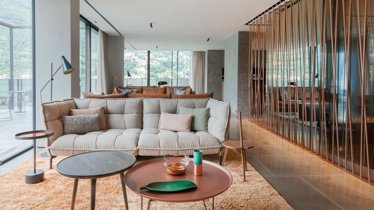 Sentuhan Desain Modern Danau Como pada II Sereno Hotel