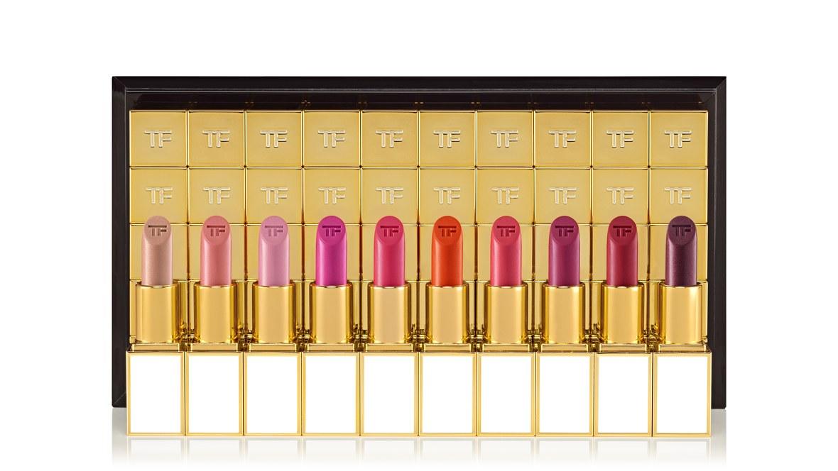 Bermain Warna dengan 100 Warna Lipstik Tom Ford
