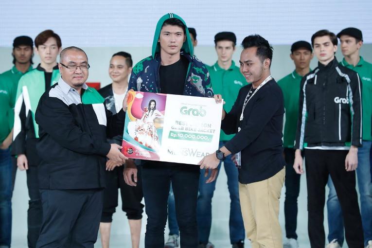 Inilah Pemenang Lomba Perancang Mode Menswear Jakarta Fashion Week 2018 untuk Desain Jaket GrabBike