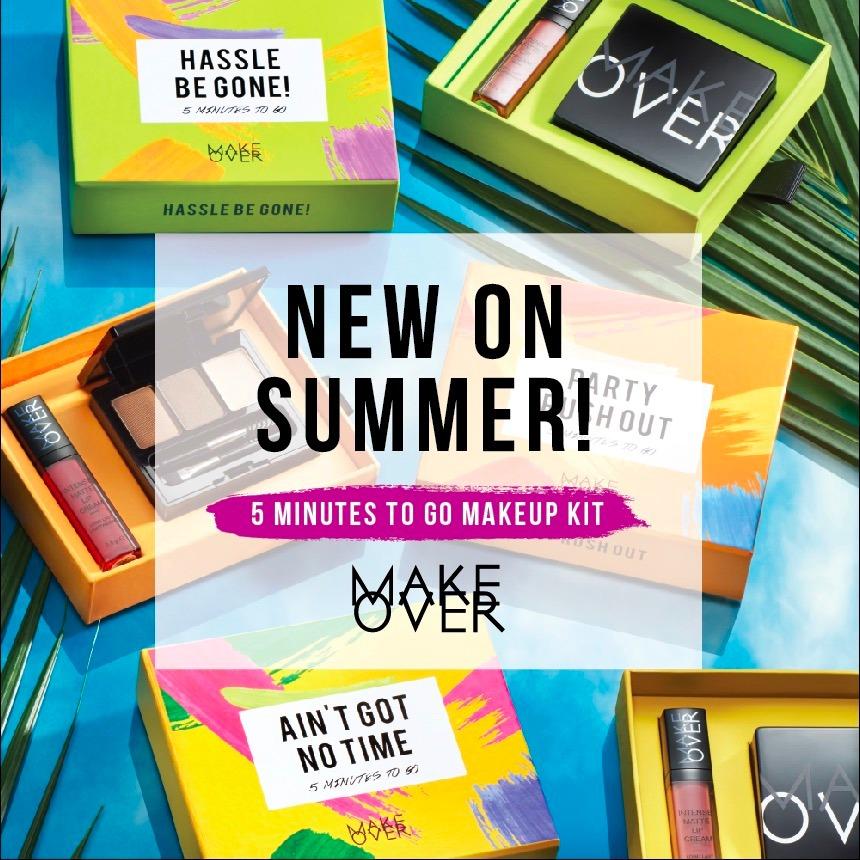Melewati Musim Panas dengan Makeup Kit Special dari Make Over