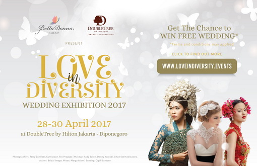 DoubleTree by Hilton Jakarta Menggelar Pameran Pernikahan Bertema Love in Diversity