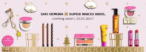 Shu Uemura Menunjuk Super Mario untuk Menghiasi Koleksi Liburan Tahun ini