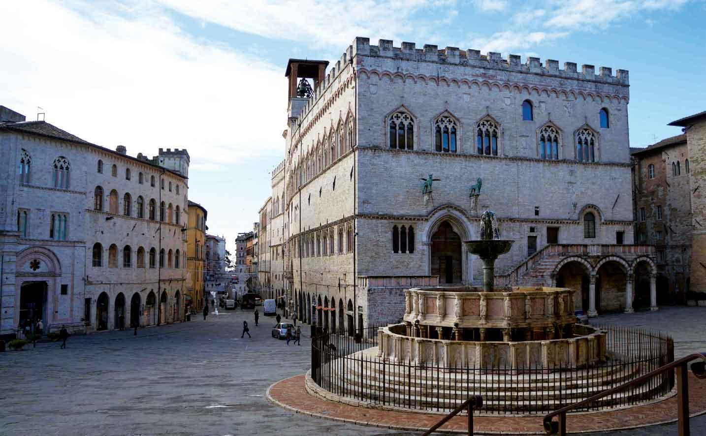 Melihat Indahnya Kota Seni Perugia dari Mata Isthi Rahayu