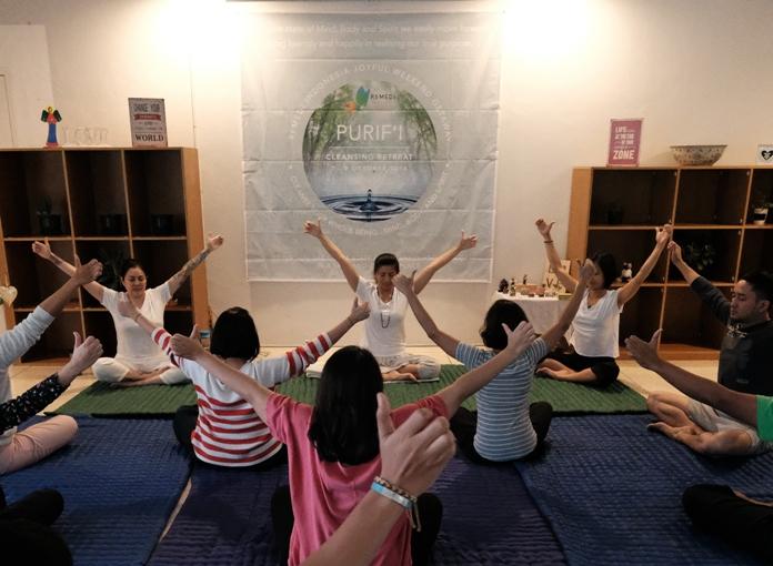 Simak Keseruan Ritual Bermeditasi Bersama Purif'I Cleansing Retreat