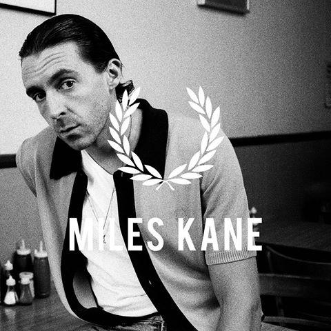 Fred Perry Mengumumkan Kolaborasi dengan Musisi Inggris, Miles Kane
