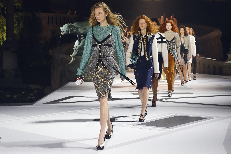 Esensi Klasik Koleksi Musim Gugur Louis Vuitton