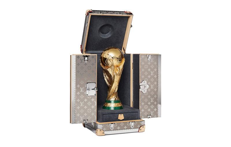 Melihat Desain Eksklusif Kotak Penyimpan Trofi Piala Dunia 2018 buatan Louis Vuitton