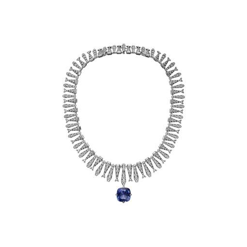 """Cartier Magicien, Perhiasan Batu Safir yang """"Multifungsi"""""""