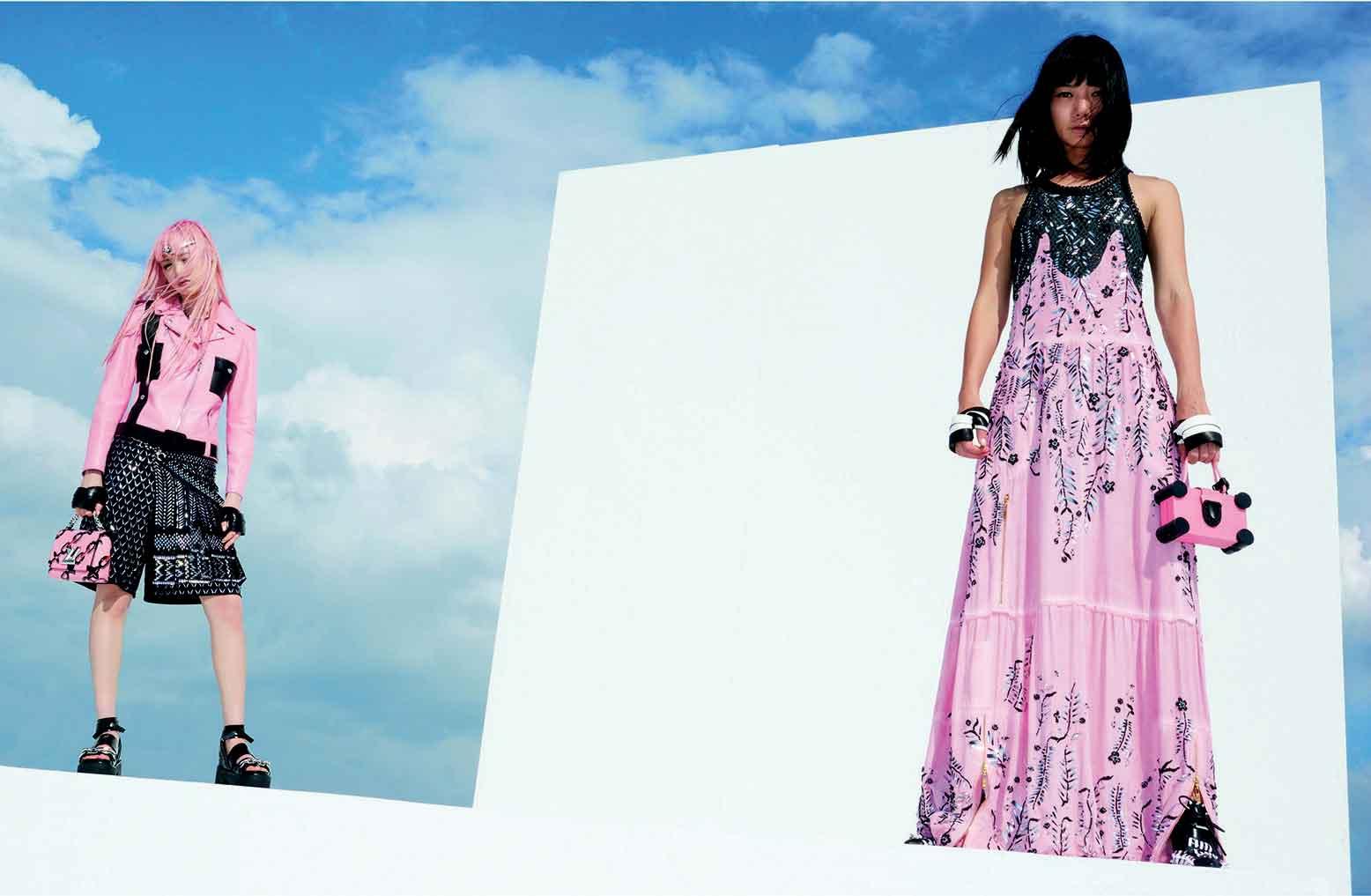 Fernanda Ly dan Doona Bae Menjadi Wajah Baru Kampanye Spring Summer 2016 Louis Vuitton