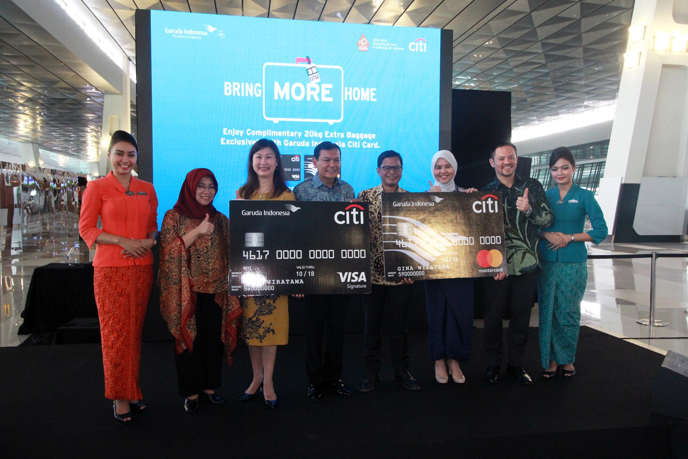 Kolaborasi Garuda Indonesia Bersama Citi Card
