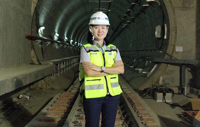 Direktur Konstruksi PT MRT Jakarta Silvia Halim Bicara Tentang Infrastruktur