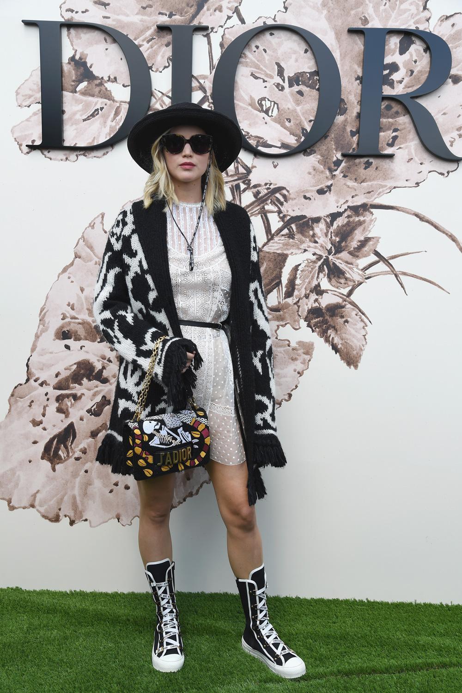 Intip Gaya Para Selebritas Kala Menghadiri Gelaran Mode Dior Haute Couture