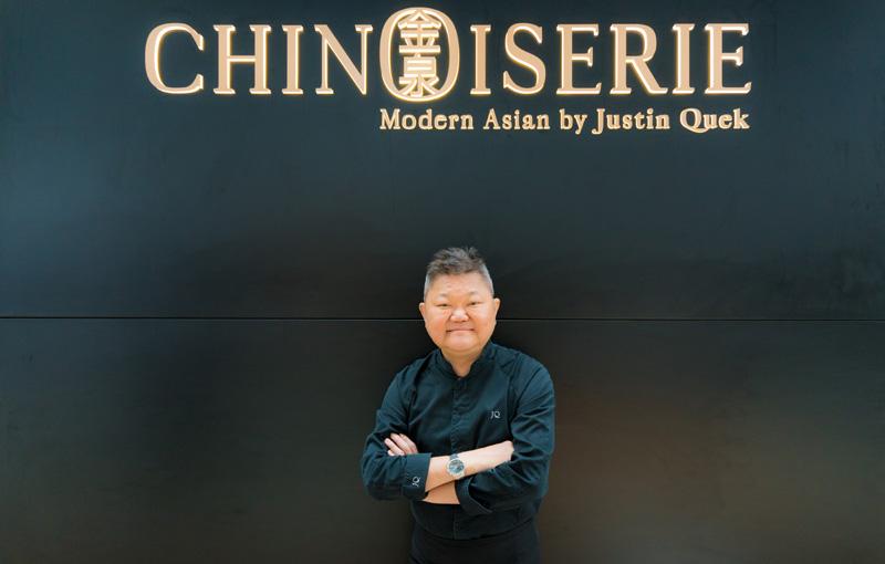 Menikmati Hidangan Asia Modern oleh Chef Justin Quek di Chinoiserie