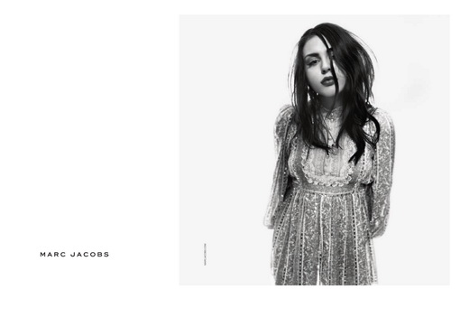 Debut Frances Bean Cobain di Kampanye Marc Jacobs Jepretan Fotografer David Sims