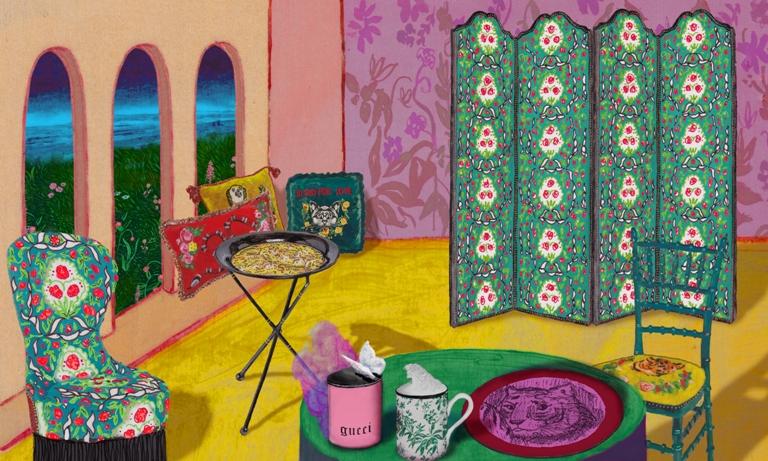 Hiasi Rumah Anda dengan Lini Dekorasi Karya Gucci