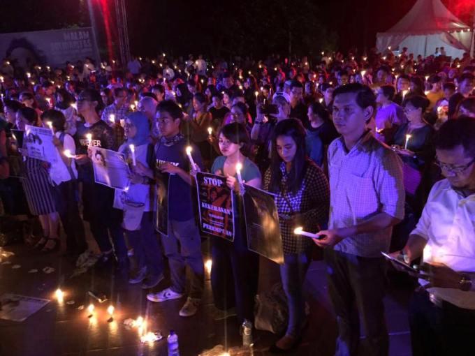 Lentera Sintas Indonesia Terangi Penyintas