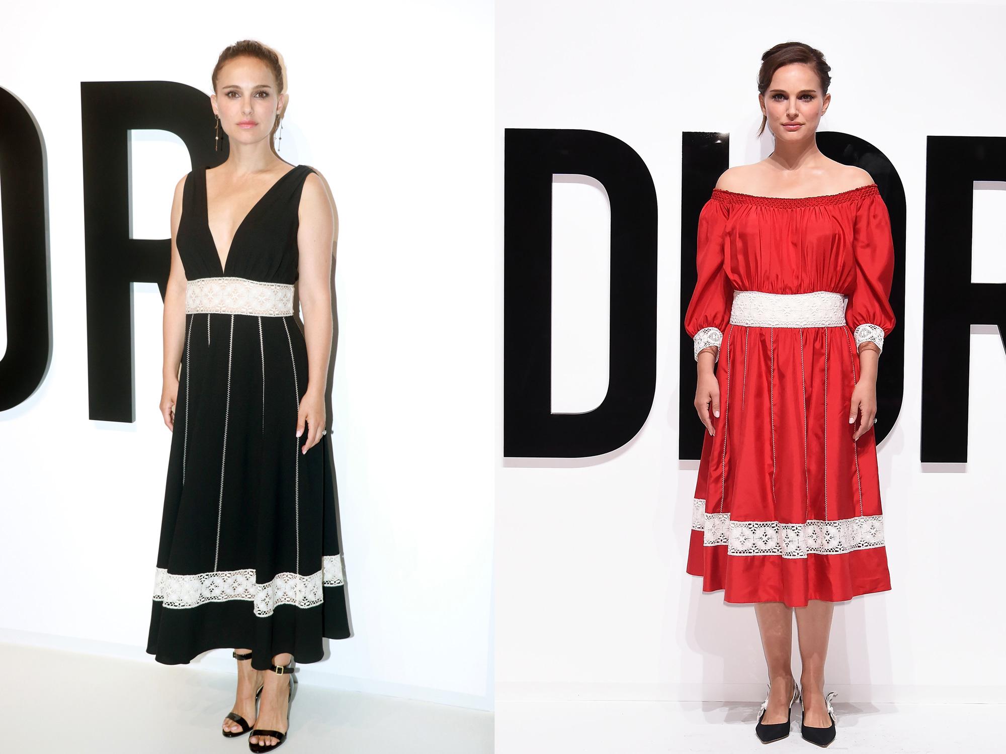 Dua Gaun Dior Pilihan Natalie Portman
