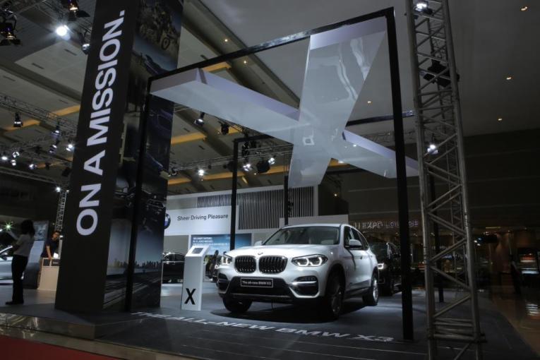 Persembahan BMW Grup Indonesia di Ajang IIMS 2018
