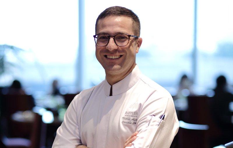 Perjalanan Panjang Executive Chef Hotel Raffles Jakarta, Chef Matias Ayala
