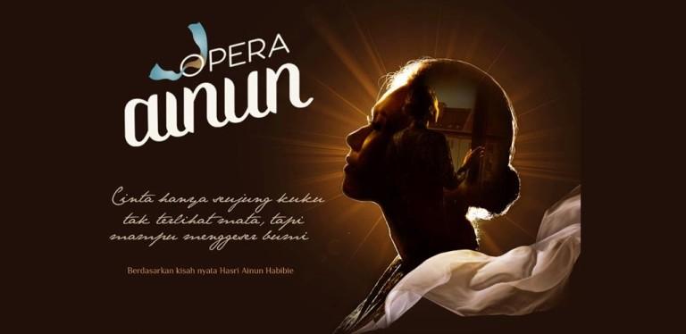 Potensi Warga Binaan dalam Balutan Kisah Cinta Tak Lekang Waktu di Opera Ainun