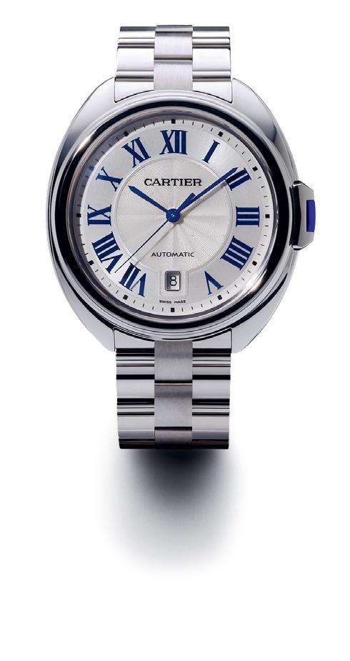 Label Perhiasan Cartier Rilis Jam Tangan Clé de Cartier