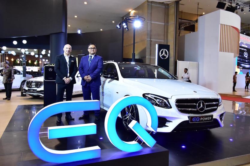 Mercedes-Benz Meluncurkan Mobil Listrik Lini EQ di Indonesia International Motor Show 2018