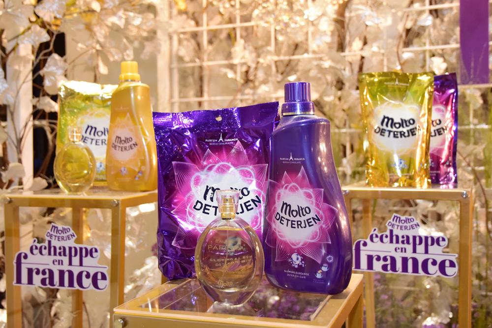 Simak Keseruan Peluncuran Molto Deterjen Baru dengan Kemewahan Parfum Perancis