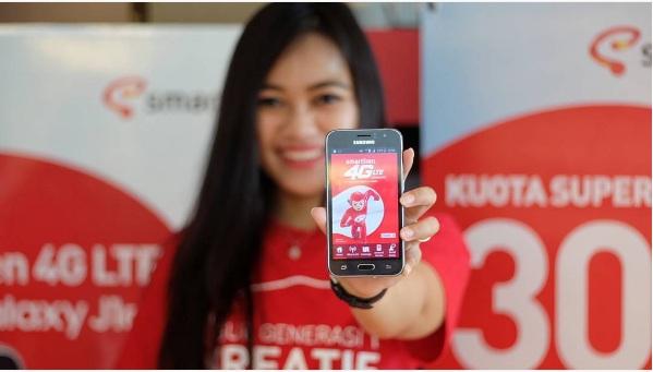Smartfren dan Samsung Hadirkan Kartu Perdana VoLTE dan Paket Bundling