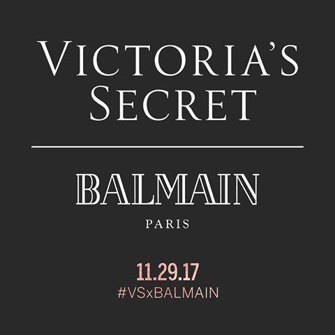 Victoria's Secret Mengumumkan Kolaborasi dengan Balmain