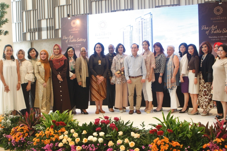 Momen Keseruan Acara Halal Bihalal dan Talkshow Buku The Art of Table Setting