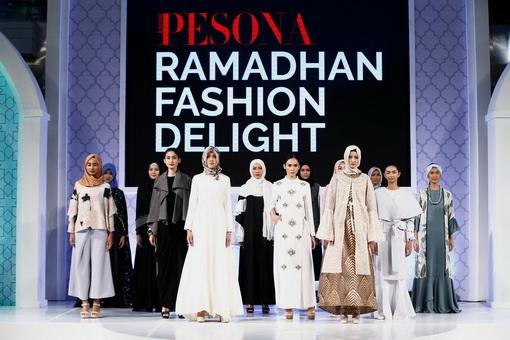 20 Desainer Busana Muslim Indonesia Mempersembahkan Karyanya di Pesona Ramadhan Delight 2017