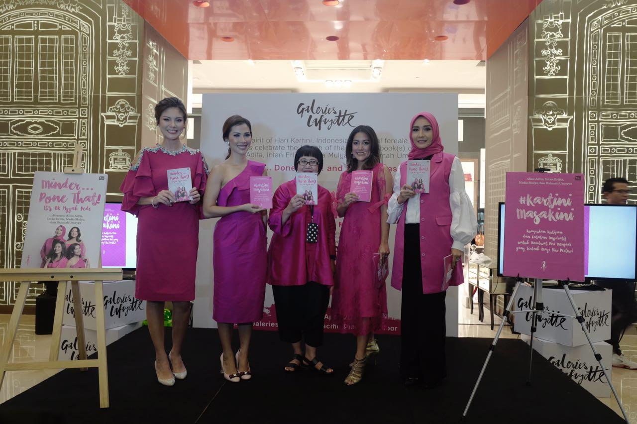 Simak Keseruan Acara Peluncuran Buku Minder… Done That! dan #KartiniMasaKini sekaligus i4 oleh empat Penulis Wanita